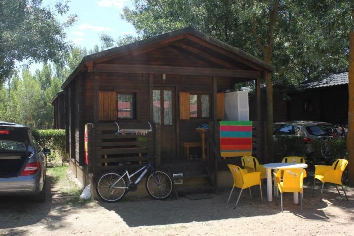 Bungalow tipo: Madera en el Camping Don Quijote