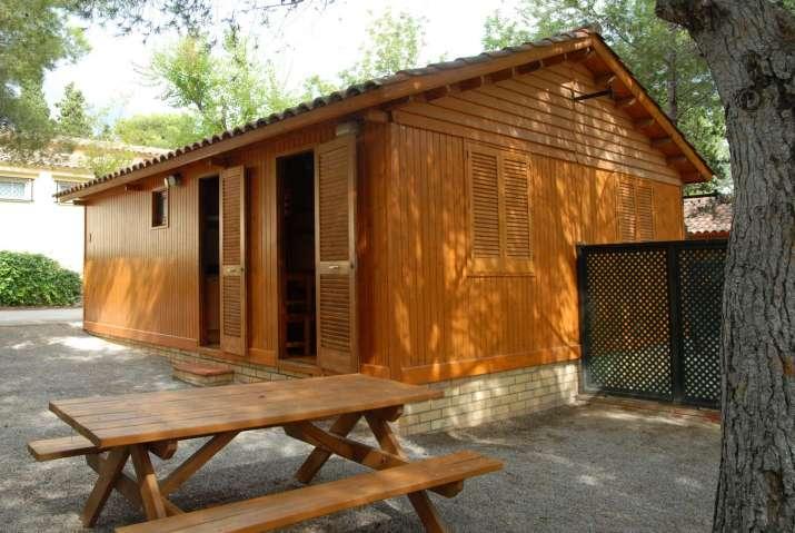 Bungalow tipo: S100 en el Camping Vilanova Park
