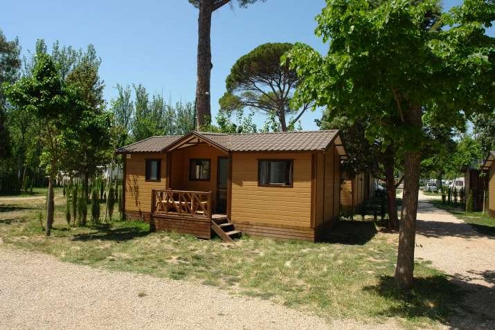 Bungalow tipo: Tajo en el Camping Internacional Aranjuez