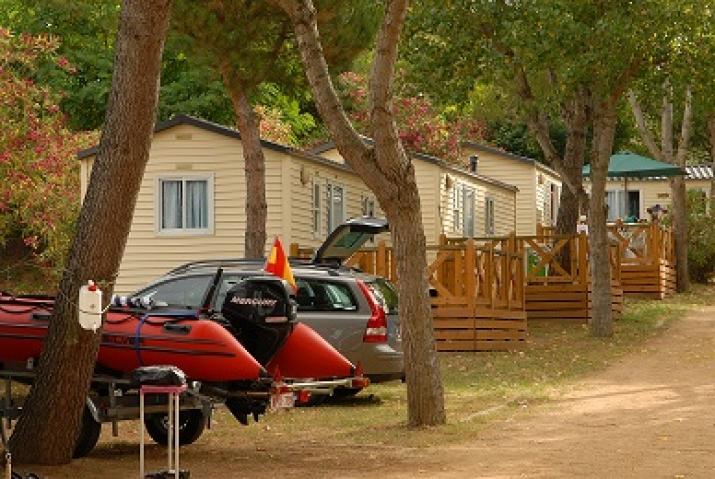 Bungalow tipo: Mobil Home L en el Camping Palamós