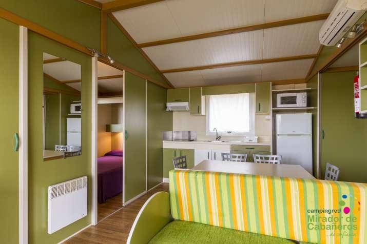 Bungalow tipo: Bungalow 3 Habitaciones en el Camping Mirador de Cabañeros