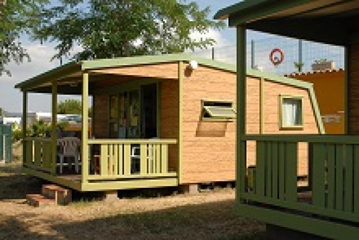 Bungalow tipo: Campeco Terrassa en el Camping Palamós