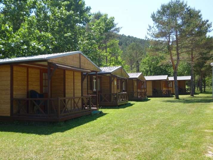 Bungalow tipo: Bungalows de Fusta en el Camping Pirinenc