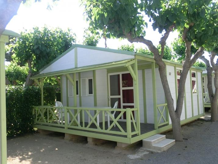 Bungalow tipo: Oasis en el Camping Bungalow Park  Platja Cambrils