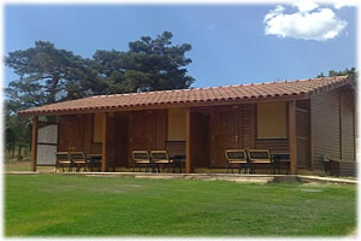 Bungalow tipo: Habitación en el Camping El Concurso