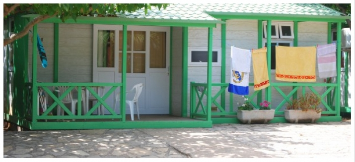 Bungalow tipo: Cottage en el Camping Torre la Sal 2