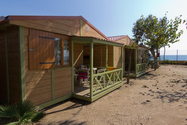 Bungalow tipo: Relax Beach en el Camping Caballo de Mar