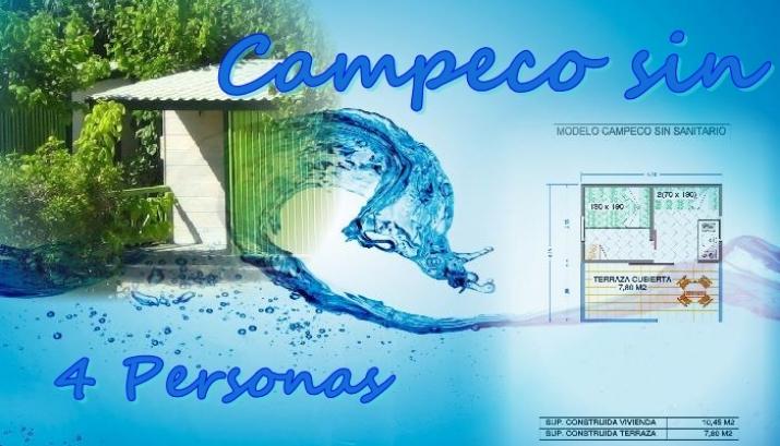 Bungalow tipo: Campeco Sin en el Camping Azul