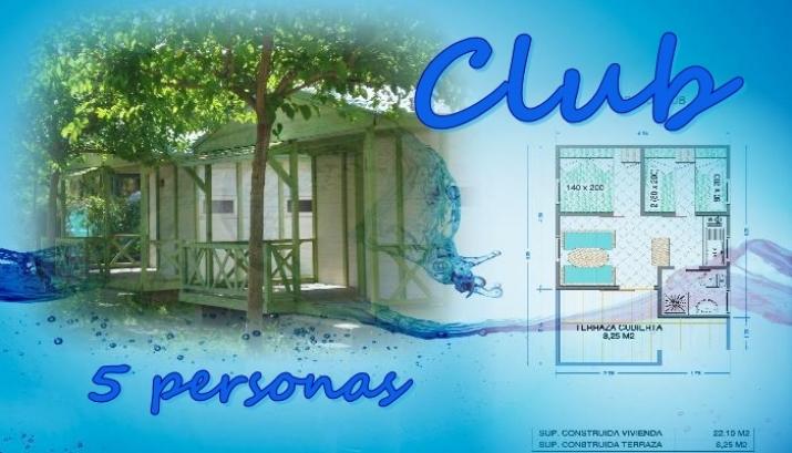 Bungalow tipo: Club en el Camping Azul