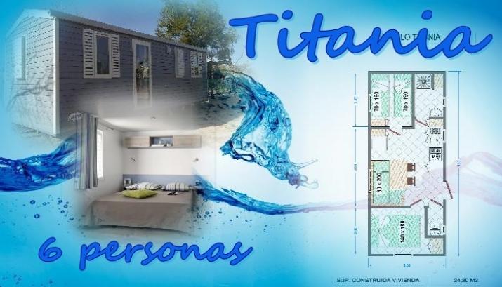 Bungalow tipo: Titania en el Camping Azul