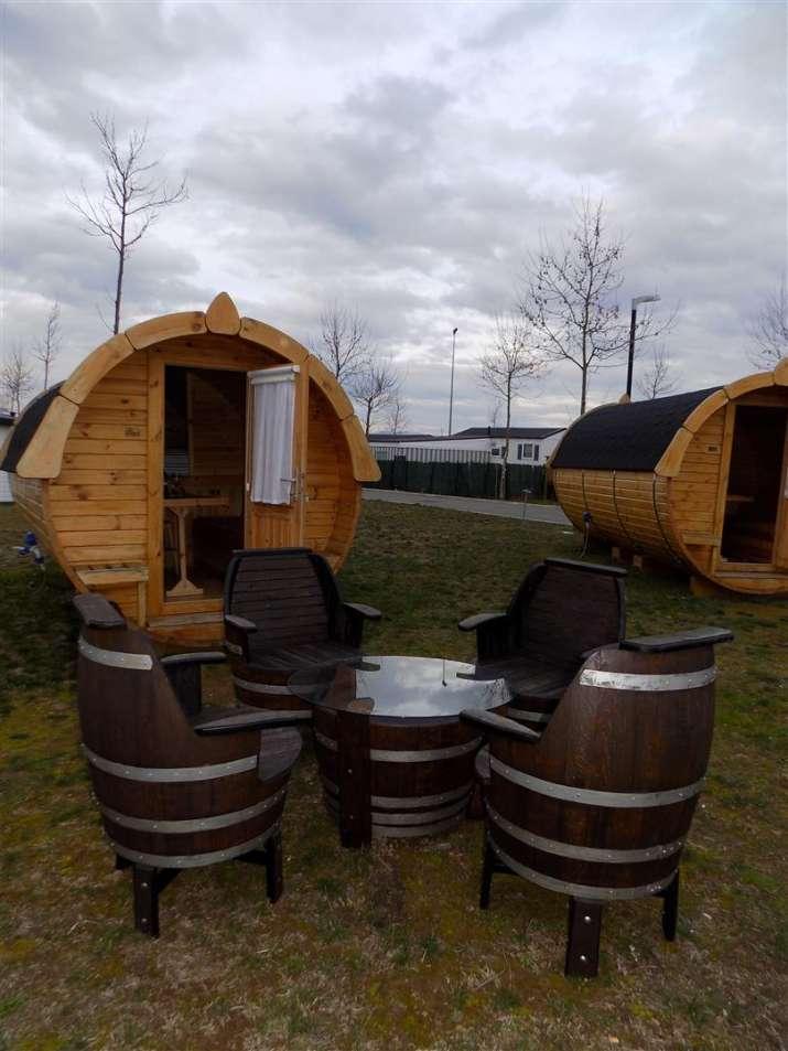 Bungalow tipo: Bungalow Barrica en el Camping Bañares