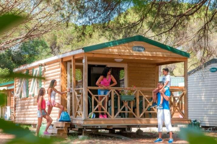 Bungalow tipo: Habana Top Presta en el Camping Caravaning el Escorial