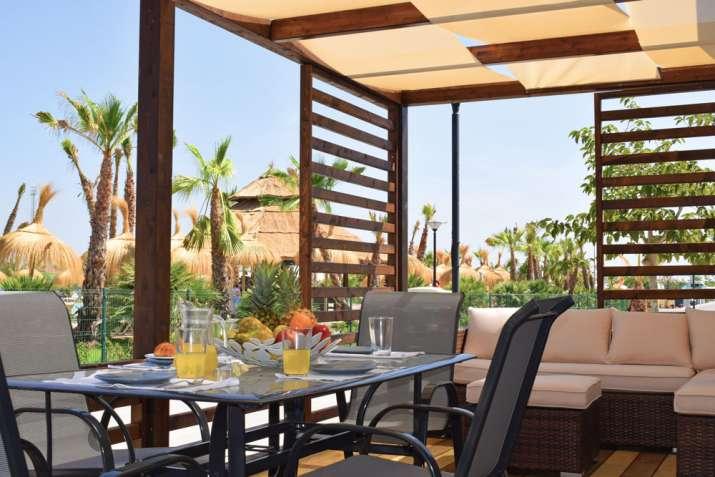 Bungalow tipo: Tahiti Suite en el Camping Marjal Resorts Costa Blanca