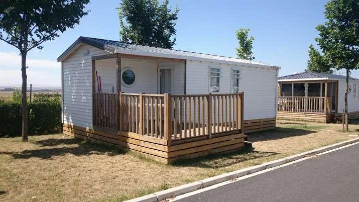Bungalow tipo: 3 Habitaciones en el Camping Bañares